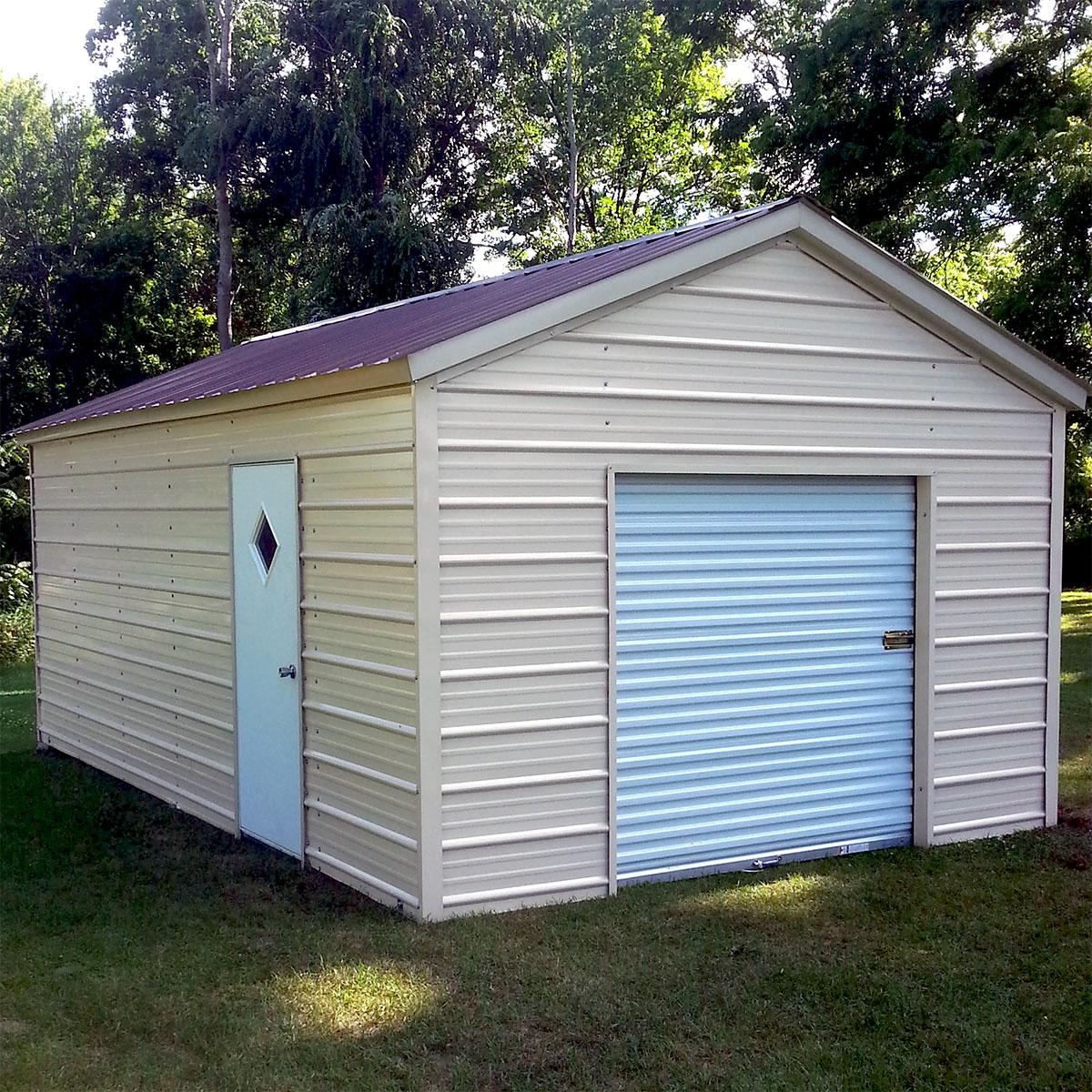 Shop Enclosed Garages Wholesale Direct Carports